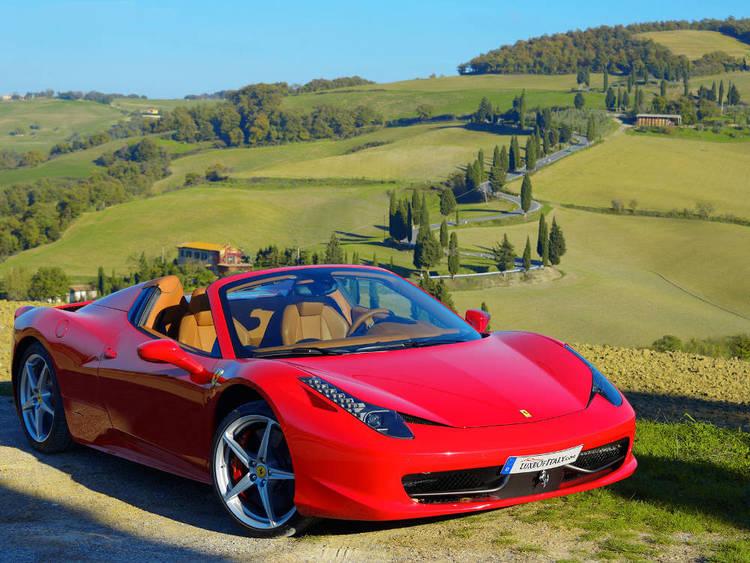 Ferrari in Tuscany Image